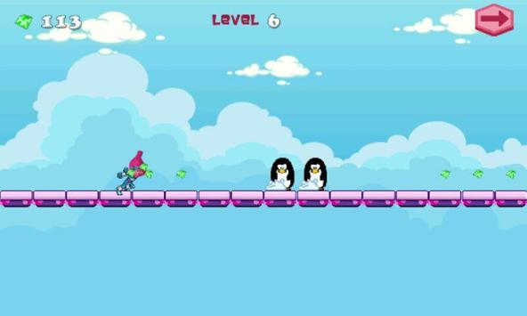 poppy troll adventure apk screenshot