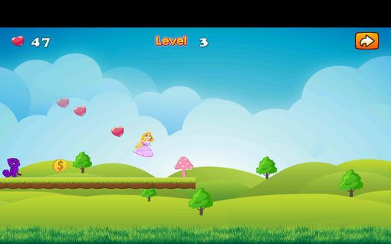 Adventure Princess Rapunzel Run screenshot 16