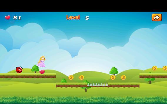 Adventure Princess Rapunzel Run screenshot 11