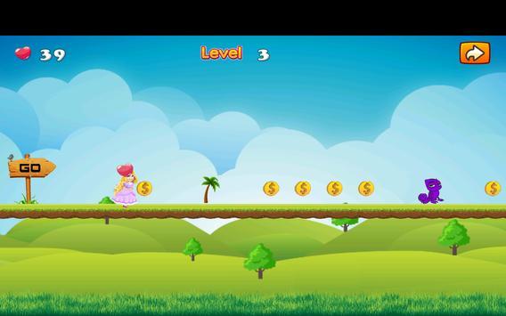 Adventure Princess Rapunzel Run screenshot 2