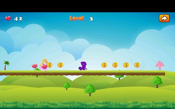 Adventure Princess Rapunzel Run screenshot 3