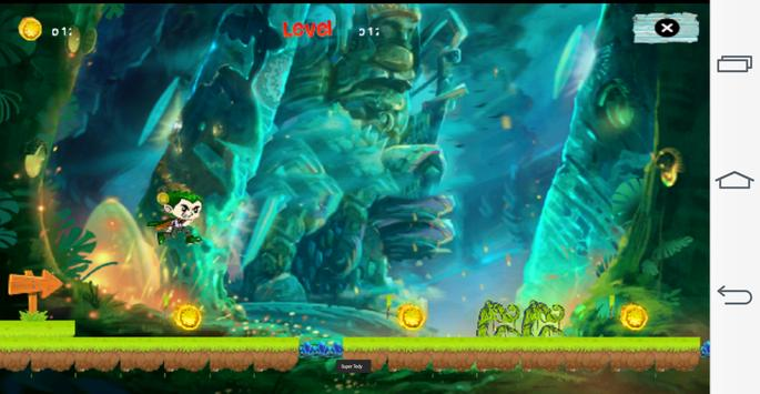 Super Tedy Run : Jungle Adventure screenshot 5
