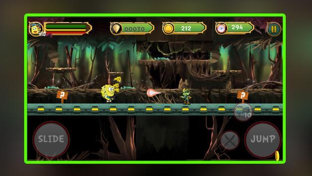 Jungle SpongBob Adventure Games screenshot 2