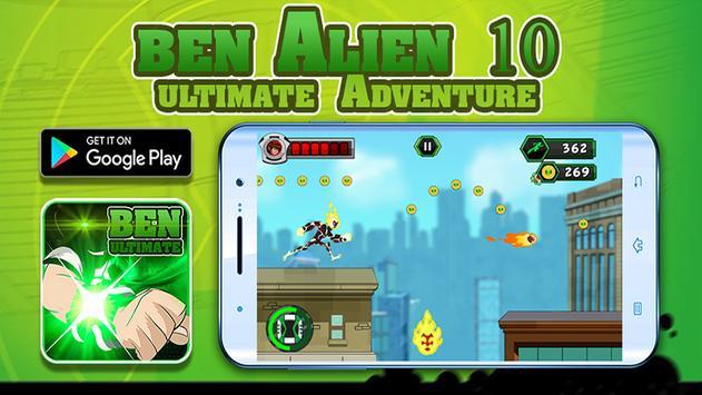 🔥 super Ben Ultimate Alien : Adventure 10 game poster