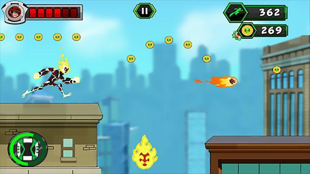 🔥 super Ben Ultimate Alien : Adventure 10 game screenshot 1
