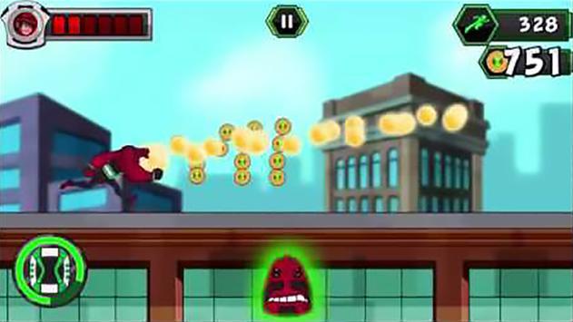 🔥 super Ben Ultimate Alien : Adventure 10 game screenshot 3