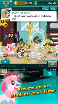 Dogs Vs Homework - Clicker Idle Game apk screenshot