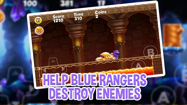 Super Blue Rangers Adventures apk screenshot