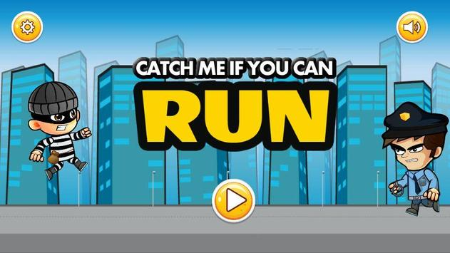 Adventure Game : RUN - Catch Me If You Can poster