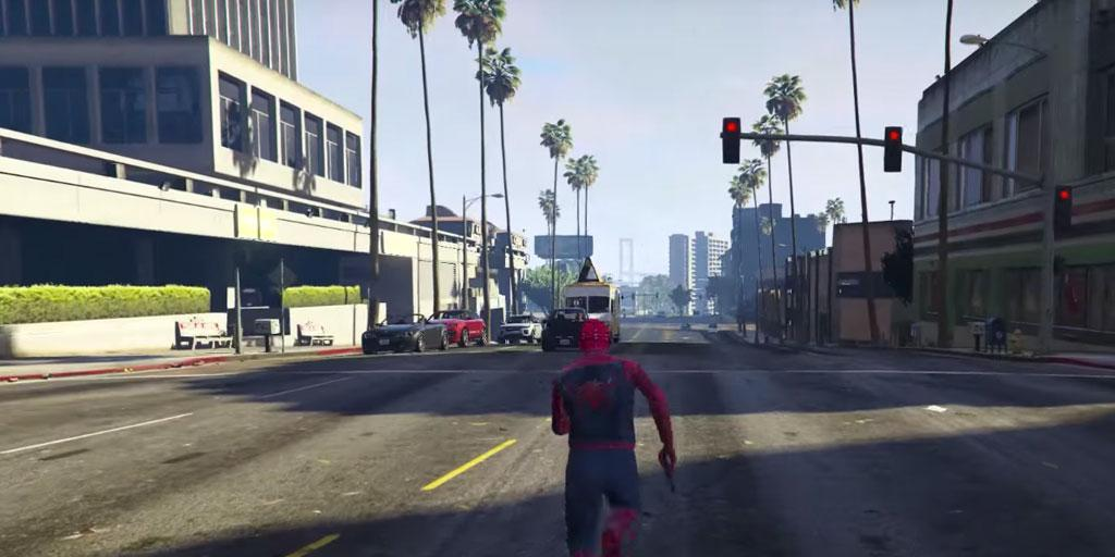 Your Spider GTA Mods Run Game for Android - APK Download