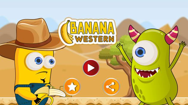 Western Banana Minion Shooter poster