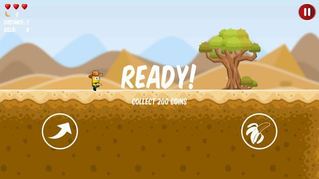 Western Banana Minion Shooter screenshot 1