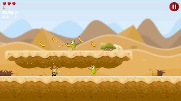 Western Banana Minion Shooter screenshot 5