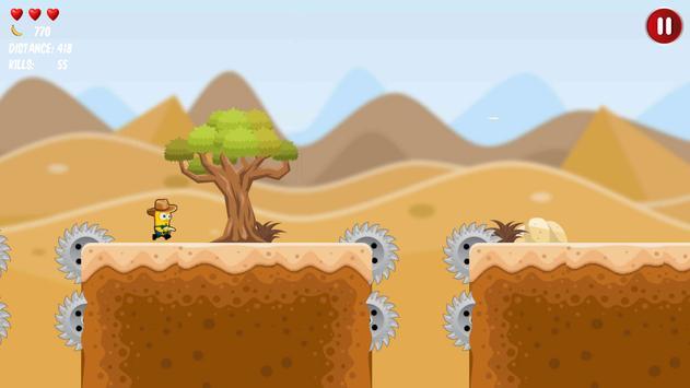 Western Banana Minion Shooter screenshot 6