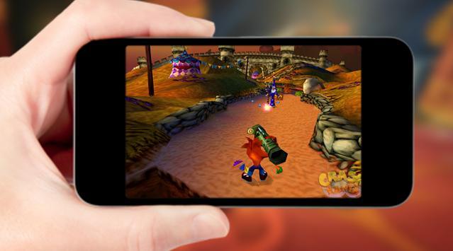 Crazy Carsh Temple Bandicoot Games apk screenshot