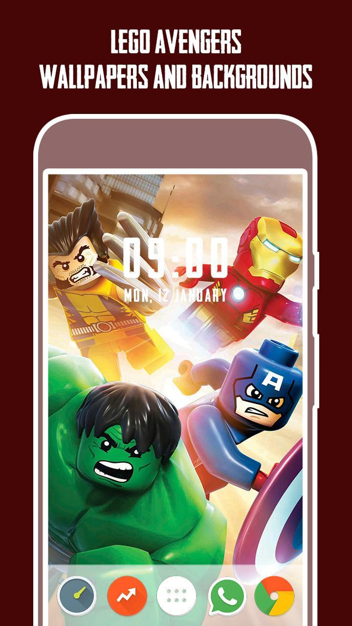 Hd4k Lego Avengers Wallpapers For Android Apk Download
