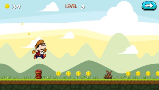 super jungle adventure of simo apk screenshot