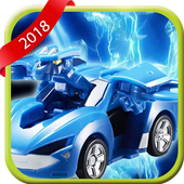 Super Watch Car Racing Monster Game icon