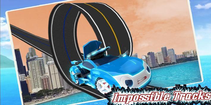 Super Watch Car Racing Monster Game screenshot 2
