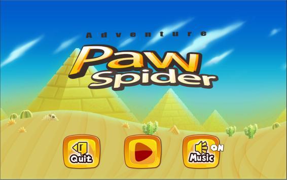 Paw Spider Adventure World poster