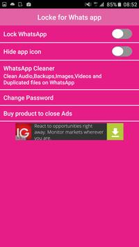 Locker for Whatsapp apk screenshot