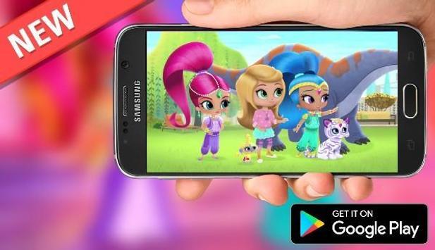 Adventure Shimmer Princess  supper Run screenshot 1