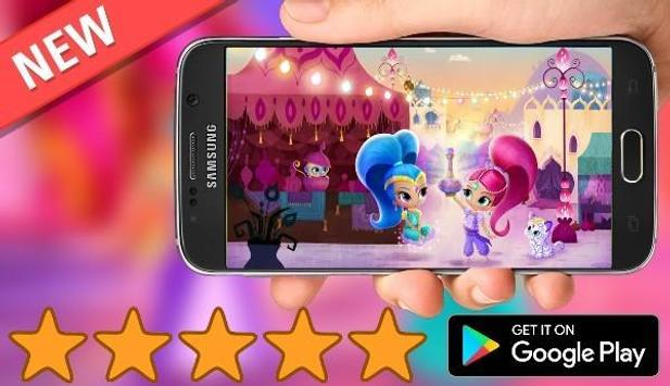 Adventure Shimmer Princess  supper Run screenshot 2
