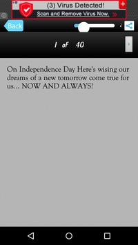Independence Day Message Sms screenshot 9