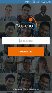 Accretio V2 poster