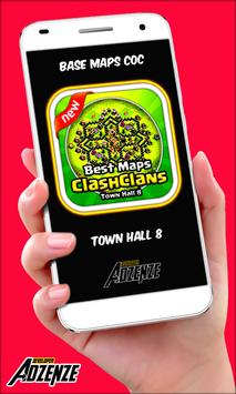 BEST Maps Clash of Clans TH8 poster
