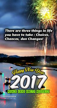 Cards Happy New Year 2017 poster