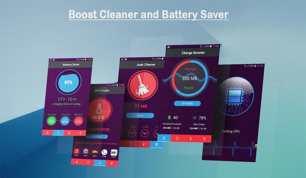 Fast Cleaner and Battery Saver screenshot 1