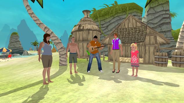 Happy Family Summer Fun Virtual Life Adventure screenshot 1