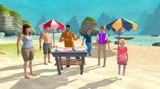 Happy Family Summer Fun Virtual Life Adventure screenshot 2