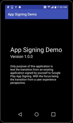 Signing Test App for Android - APK Download