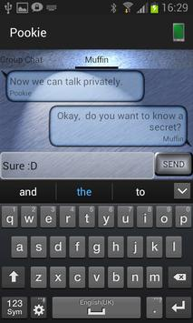 Aeons Blue Chat (free) apk screenshot