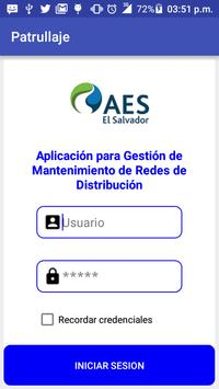 AES El Salvador Patrullaje 4 poster