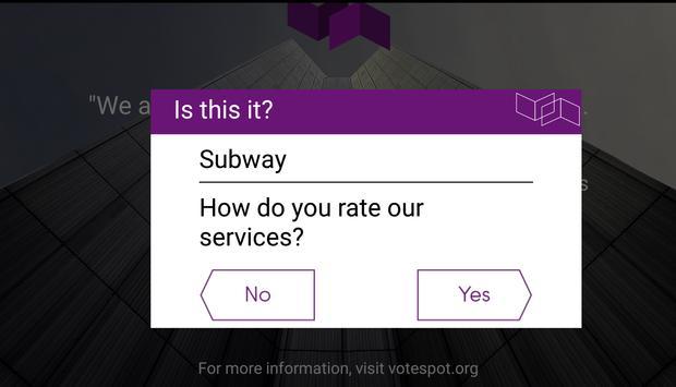 votespot screenshot 1