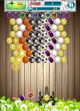 Bubble Ball Shoot screenshot 1