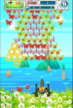 Butterfly Shooter screenshot 2