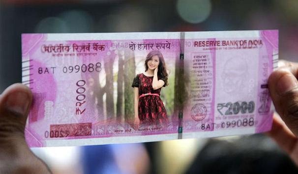 Money Photo Frame poster