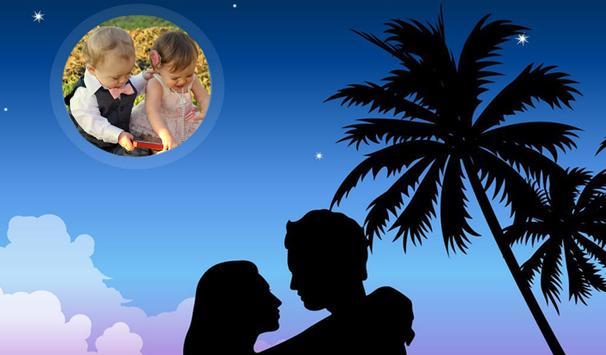 Romantic Photo Frame screenshot 1