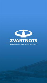 Zvartnots Airport poster