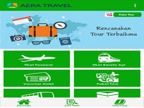 Aera Travel captura de pantalla 3