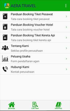 Aera Travel captura de pantalla 1