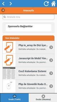 Yazılım Günlüğü apk screenshot