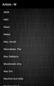 Lyrics Store (Including Video) screenshot 1