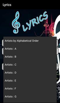 Lyrics Store (Including Video) screenshot 4