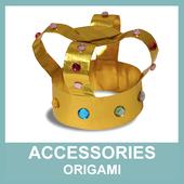 Accessories Origami icon