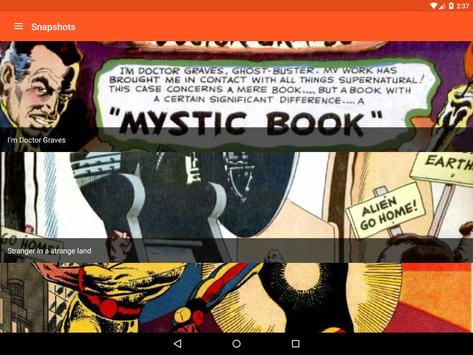Astonishing Comic Reader apk screenshot